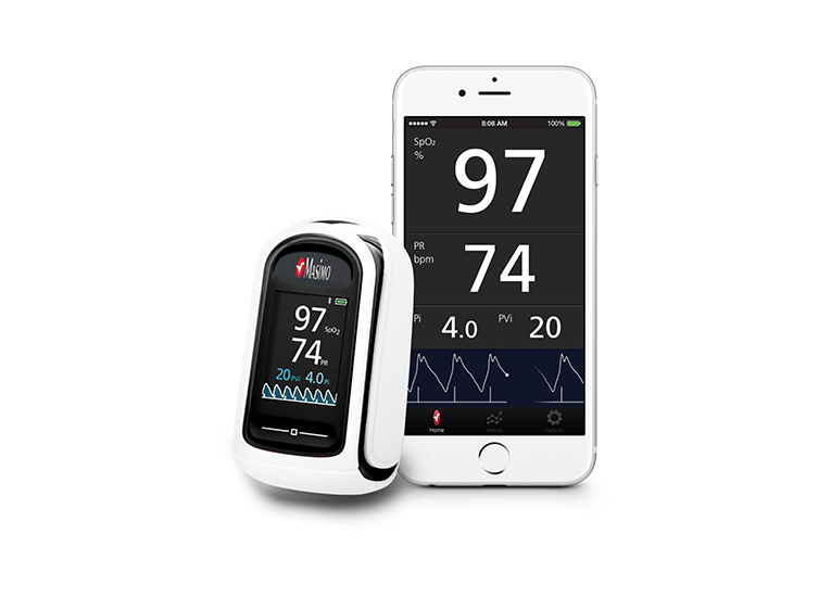 Masimo - MightySat® Rx fingertip pulse oximeter to feature Masimo SET®