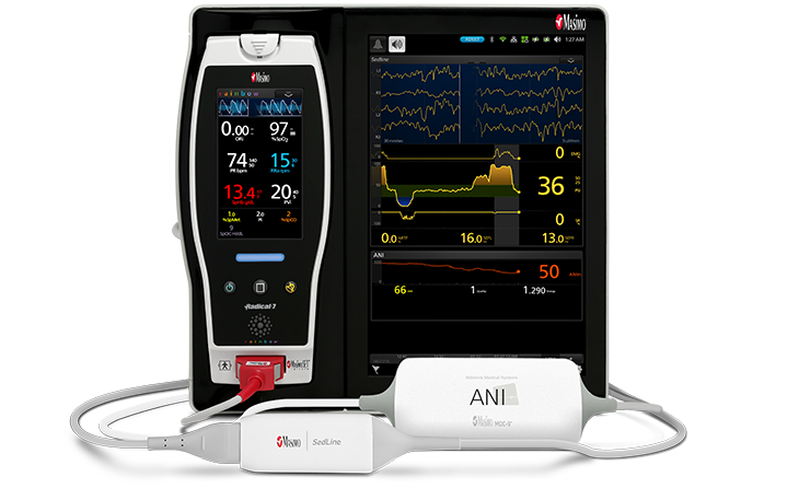 Masimo - Root with ANI and O3 Regional Oximetry