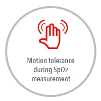 Masimo - Pronto Motion tolerance  during SpO2  measurement